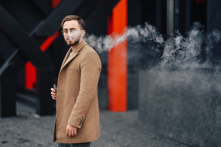 a man with a nice coat
