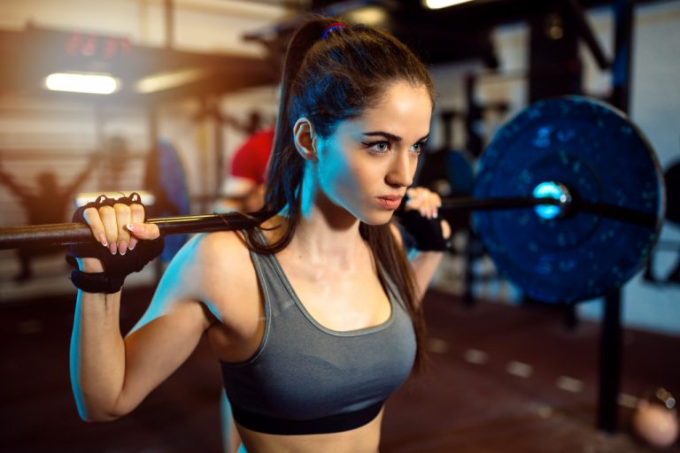 physically fit woman